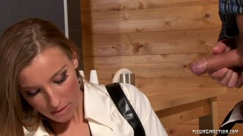 Vanessa Pissed And Poked - Extreme Pissing Video