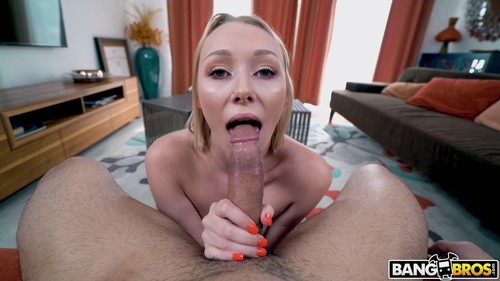 """Athena May in """"Hot Blowjob From Blonde With Braces"""" [HD]"""