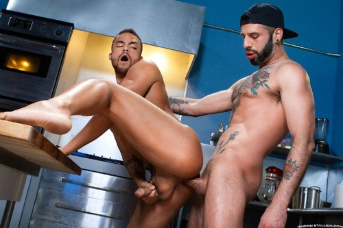 RagingStallion - Cake Shop: Beaux Banks, Romeo Davis Bareback