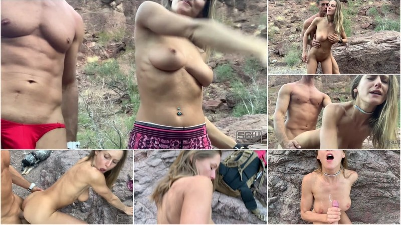 SparksGoWild - Hot Couple have Sex in the Mountains¡ (1080P/mp4/270 MB/FullHD)
