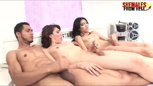 Sandy Lopez Paloma Padilha Alexandre Reamstered - Shemale, Ladyboy Porn Video