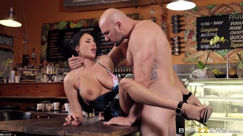 "Anissa Kate in ""Not Here For The Coffee"" [HD]"