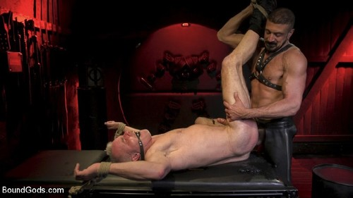 BoundGods - Power Fuck: Hot Leather Men Inflict Muscle Domination & Intense Pain