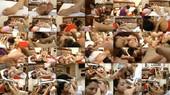 Goddess Rapha Vegas Rough Foot Domination 4 Slaves - Erika, Isabella, Patricia Brunette, Rapha Vegas, Vaninha