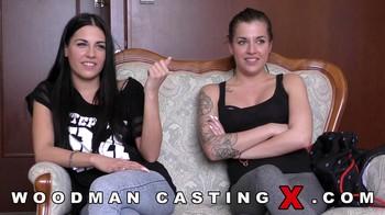 Evelina and Silvia Dellai Woodman Casting X