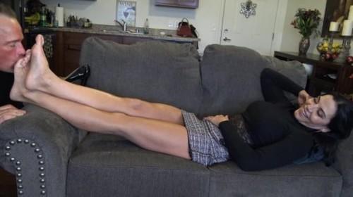Goddess Zephy Worship my feet, bitch! - Worship, Mistress, Femdom Porn