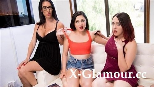 Nickey Huntsman, Dava Foxx, Petra Blair - Make Up Lessons By Mommy (HD)