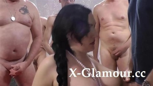 "Elina Flower in ""Mature Woman Fucked By A Group Of Men"" [HD]"