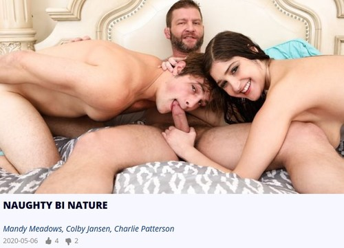 BiPhoria - Naughty Bi Nature: Mandy Meadows, Colby Jansen, Charlie Patterson