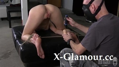 Blonde Babe Tortured With A Hook In Her Ass [SD]
