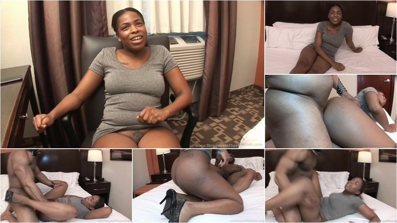Watch how Melan Truffle enjoys her 1st experience with a BBC male stripper but was overhelmed when her stripper stuffed his BBC in her young tight pussy!!! [SD 480P]