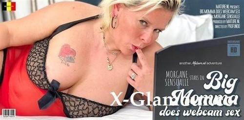 Trashy Bbw Morgane Sensualle Loves To Get Web Infront Of A Webcam [SD]