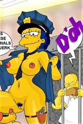 The Simpsons Artwork from Evilweazel