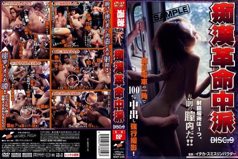 NHDT-239 痴漢革命中派 VOL.9