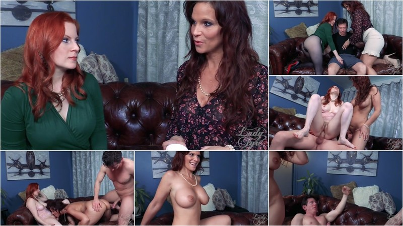 Lady Fyre & Syren De Mer - Heir to the Fortune: Neighbor MILF Home Wreckers [FullHD 1080P]