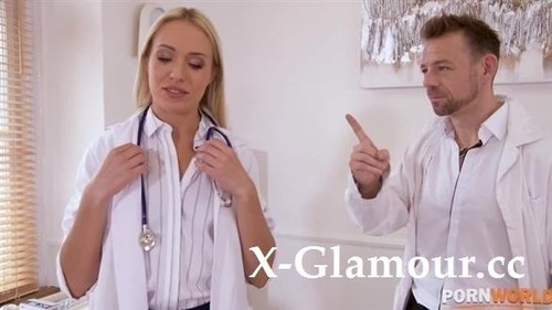 Angelika Grays - Naughty Nurse Angelika Grays Pussy Penetrated By Doctors Fingers And Cock Gp1343 [HD/720p]