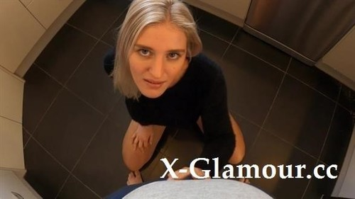 Kate Pie Deepthroats Cock In The Kitchen And Gets Messy Facial. [FullHD]