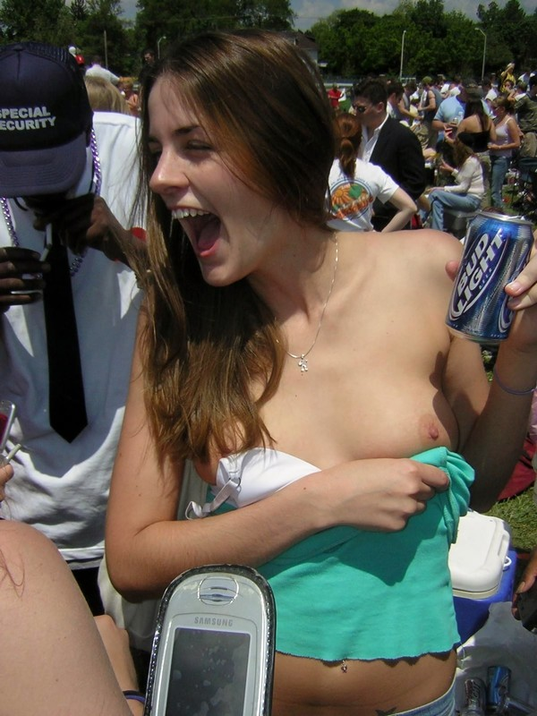 accidental boobs