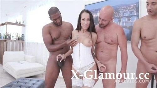 Big Dicks Rules Valentina Sierra Meets Big Dicks And Gets Buttrose With Balls Deep Anal, Dap, Gapes, Creampie And Facial Gio1475 [SD]
