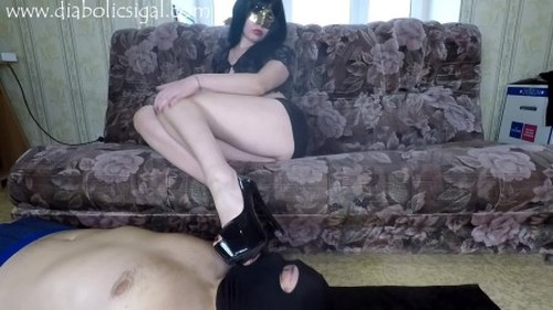 Janet - Great Toilet For My Shit - Femdom Scat, Domination Scat