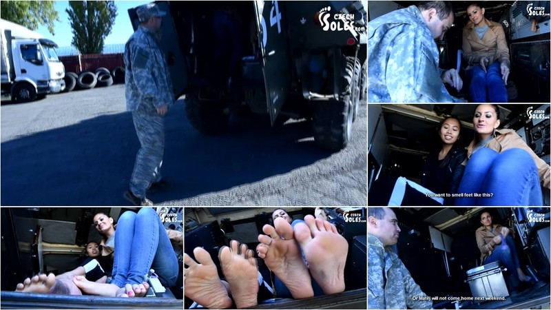 Double Foot Worship By Army Commander [FullHD 1080P]