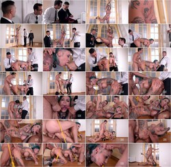 HouseOfTaboo/DDFNetwork - Calisi Ink - Pierced Pussy Stuffing - Inked Submissive Double Penetrated (FullHD/1080p/1.48 GB)