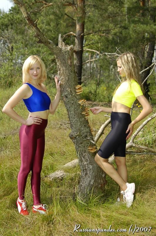 russian lesbian teens in kinky spandex