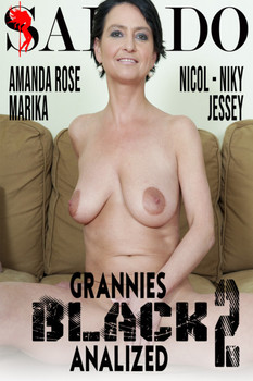Grannies Black Analized 2