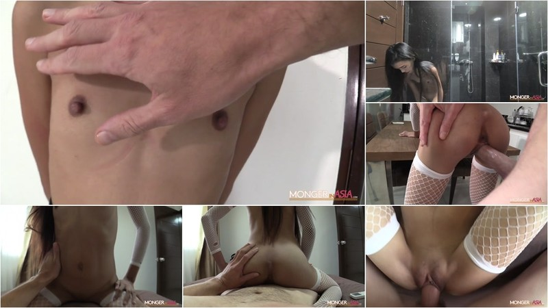 Nicole - Rail-Thin 18 Year Old Gets Pounded By Giant Cock [FullHD 1080P]