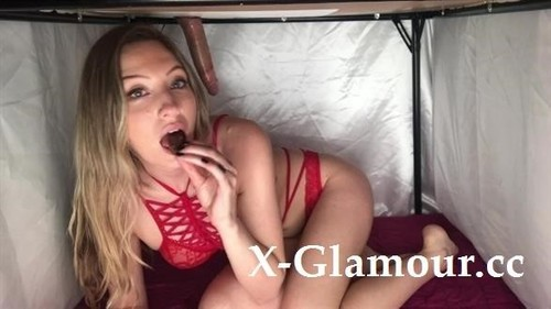 Milking Table - Eating Cum And Chocolate For Valentines Day! [FullHD]