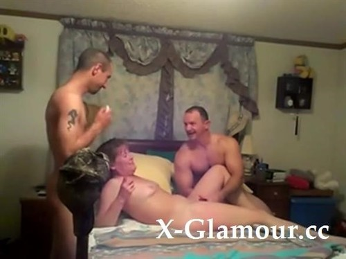 Mature Momma Takes On Two Guys [SD]
