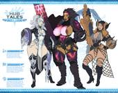 TheKite - Hub Tales (Monster Hunter World sex comic)