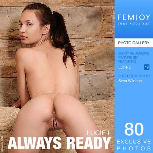 Lucie L - Always ready (x80)