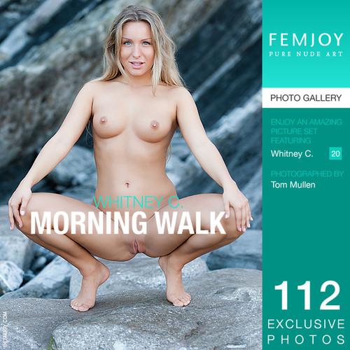 Whitney C - Morning walk (x112)