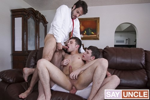 MissionaryBoys - Physical Penitence: Jesse Avalon, Dakota Lovell, Dante Drackis Bareback (Sep 8)