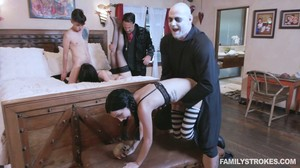 Audrey Noir, Kate Bloom - Addams Family Orgy, 1080p