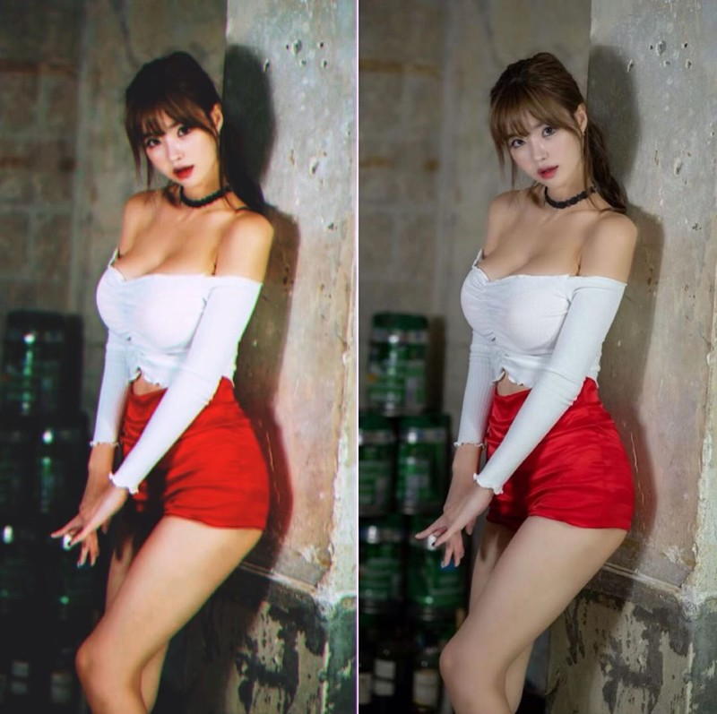 韓國正妹Hanna浴缸泡澡超兇上圍都快包不住了
