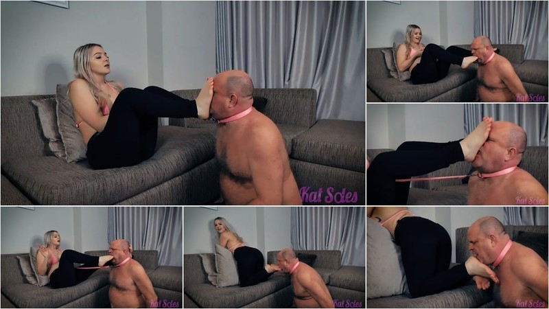 A Bratty Forced Foot Worship With Kat [FullHD 1080P]