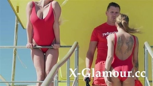 Sienna Day, Silvia Dellai - Bootcamp Ffm With Lifeguard Sluts [SD/480p]