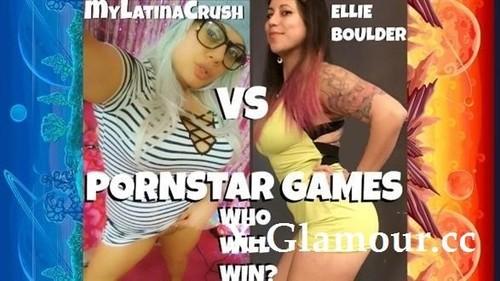 My Latina Crush - Head Or Tail Pornstar Games Mylatinacrush Vs Ellie Boulder Who Will Win? (HD)