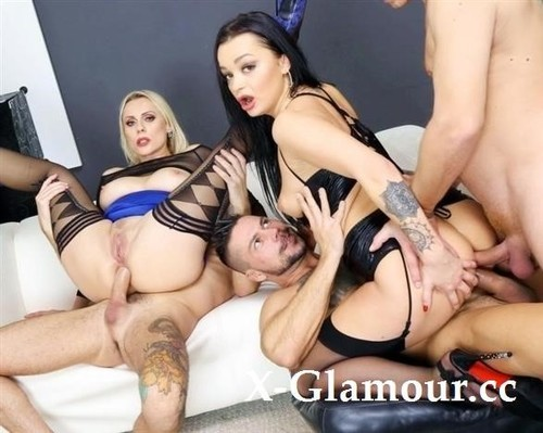 Master Of Squirt Daphne Klyde, Brittany Bardot 4On2 Balls Deep Anal, DAP, ButtRose, Squirt Drink, Creampie Swallow - Gio1655