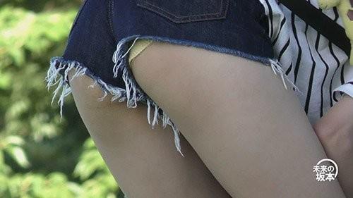 美少女×ホットパンツ×ハミP→最強
