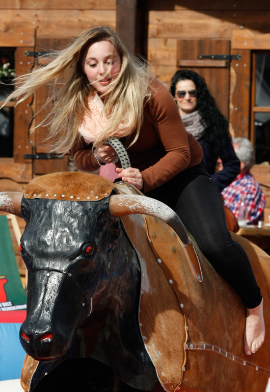rodeo girl in tight jeans