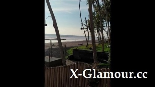 MihaNika69 - Real Outdoor Sex On A Public Beach - Cum On Belly (2020/SD)
