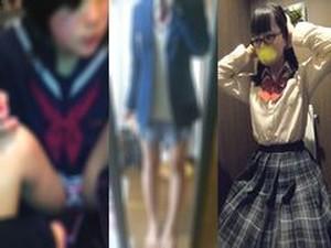 【個撮】本日の生贄.制服の美少女2人組かわりばんこに生中出し♪☆★等8部