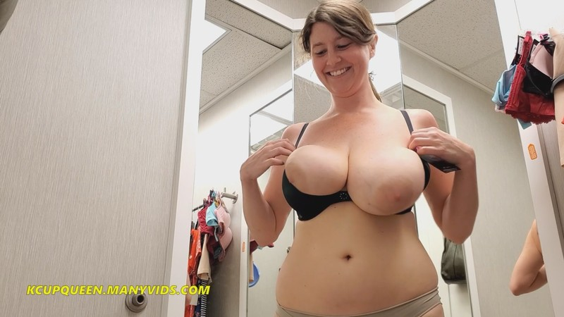 KCupQueen - Risky Public Fitting Room ASMR JOI [FullHD 1080P]