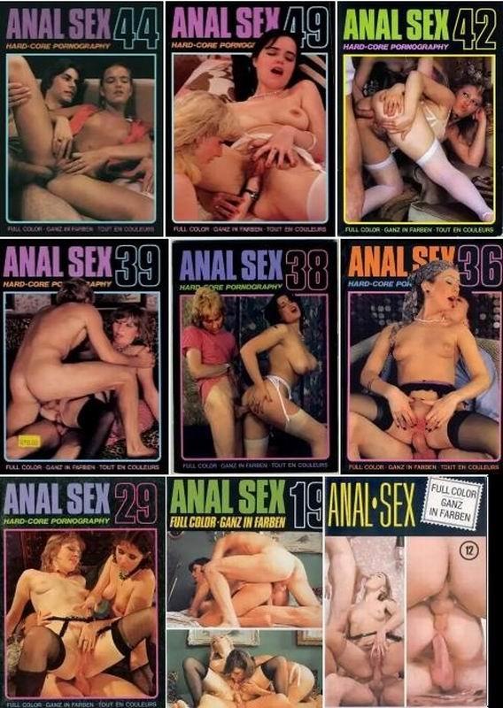 18 Magazines - Anal Sex (1970-1980) JPG