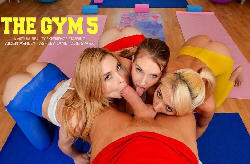 The Gym 5 Aiden Ashley Ashley Lane Zoe Sparx Smartphone