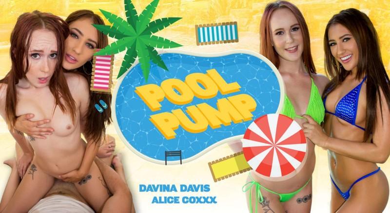 Davina Davis Amp Alice Coxxx Pool Pump Oculus Vive