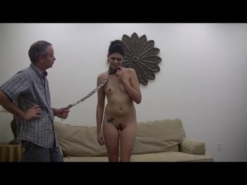 Brain Control over naughty daughter and her leash training